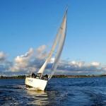"""Yachtcharter in Stralsund - Die """"Blow me"""" auf der Ostsee"""