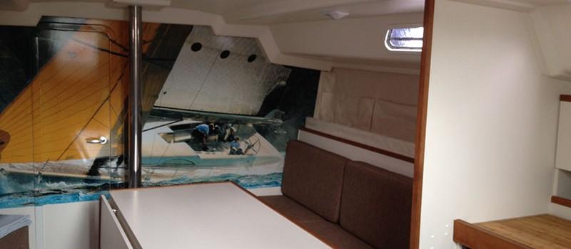 Salon der Varianta 44 - Yachtcharter in Stralsund