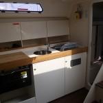 Yachtcharter Stralsund Blow Me Küche